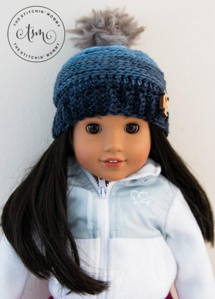 My Favorite Beanie for 18 Inch Dolls by The Stitchin' Mommy