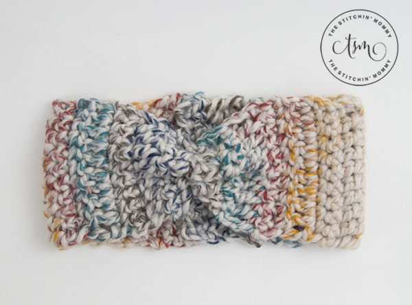 Rustic Chunky Headband by The Stitchin' Mommy