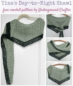 Tina's Day-to-Night Shawl by Marie Segares/Underground Crafter