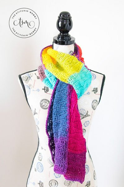 Waves of Enchantment Scarf by The Stitchin' Mommy