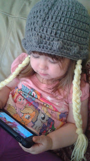Adding Braids to Crocheted Hats by Amanda Slate from Mandie The Mommy