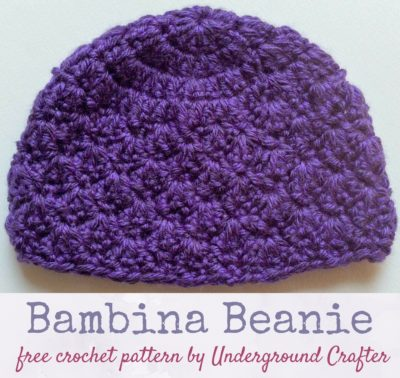 Bambina Beanie by Marie Segares/Underground Crafter