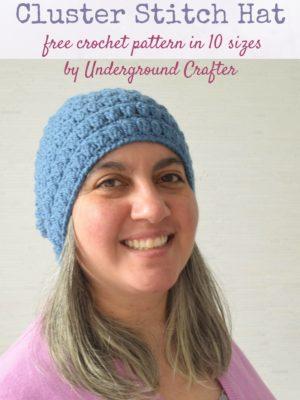 Cluster Stitch Hat by Marie Segares/Underground Crafter
