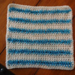 Scrubby Stripes Cloth by Amanda Slate of Mandie The Mommy