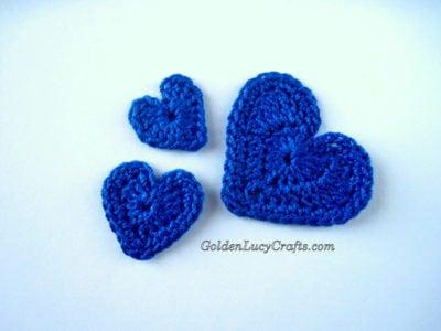 Heart Applique by GoldenLucyCrafts