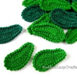 Crochet Leaf - Irish Lace Motif by GoldenLucyCrafts