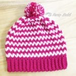 Easy V-Stitch Hat by Imadylle Bais of Si Nanay Madel