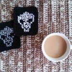 Cross Stitch Alien Coasters by EyeLoveKnots