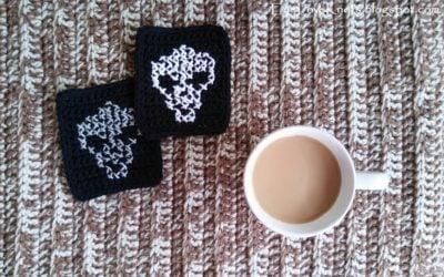 Cross Stitch Alien Coasters by EyeLoveKnots