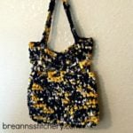 Fabric Market Bag by Hooked On Homemade Happiness