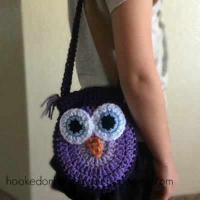 Owl Purse by Hooked on Homemade Happiness