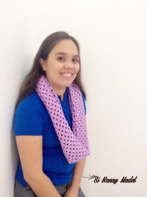 Granny Stitch Scarf by Si Nanay Madel