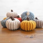 Crochet Pumpkins That Look Knit by Lou from Malloo
