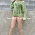 Crochet Sweater (Pullover) by Jane Green of Beautiful Crochet Stuff