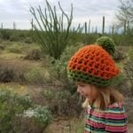 Easy Pumpkin Beanie by Hooked on Homemade Happiness