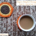 Super Simple Hexagon Coasters by EyeLoveKnots