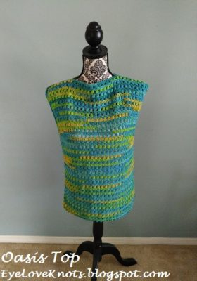 Oasis Cluster Top by EyeLoveKnots