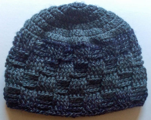 e7dbc79e9e4 Meandering Walk in the Woods Basketweave Beanie by Marie  Segares Underground Crafter