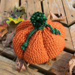 Pumpkinhead Hat by Julie Muenster/J Crochet for Underground Crafter