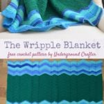 The Wripple Blanket by Marie Segares/Underground Crafter