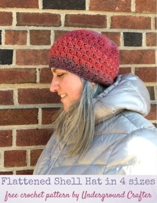 Flattened Shell Hat by Marie Segares/Underground Crafter