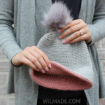 Simple Double Brim Hat by Wilmade