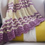 Berry Cobbler Ripple Blanket by Marie Segares/Underground Crafter