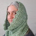 Textured Waves Hooded Cowl by Marie Segares/Underground Crafter