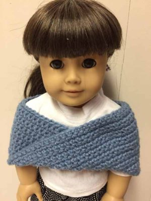 American Girl Doll Shoulder Wrap by Needlepointers.com