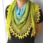 Pom Pom Happiness Shawl by Wilmade