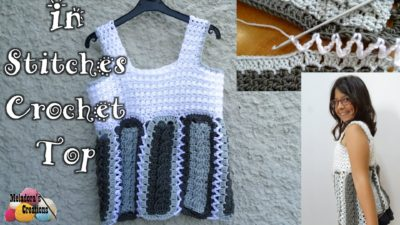 In Stitches Crochet Top by Meladora's Creations