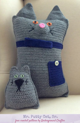 Mr. Putty Cat, Sr. by Marie Segares/Underground Crafter