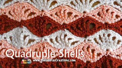 Quadruple Shells by Meladora's Creations