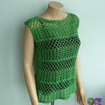Summer Crochet Lace Top by CrochetN'Crafts