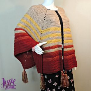 Harvest Poncho by Jessie At Home