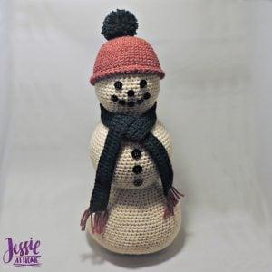 Snowman Centerpiece by Jessie At Home