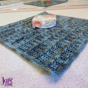 Strand of Diamonds Washcloth by Jessie At Home