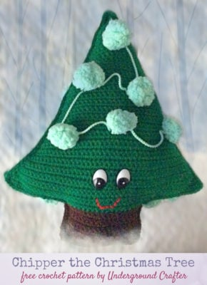 Chipper the Christmas Tree by Marie Segares/Underground Crafter
