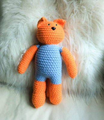 Kitty in a Romper by Marie Segares/Underground Crafter