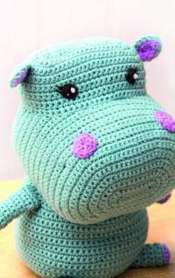 Nelly the Hippo by Lucia Forthmann on Marie/Underground Crafter