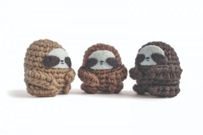 Sloth by Lauren Bergstrom for Underground Crafter