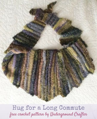 Hug for a Long Commute by Marie Segares/Underground Crafter