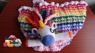 Crochet Unicorn Lovey CAL by Meladora's Creations