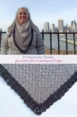 Promenade Shawl by Marie Segares/Underground Crafter
