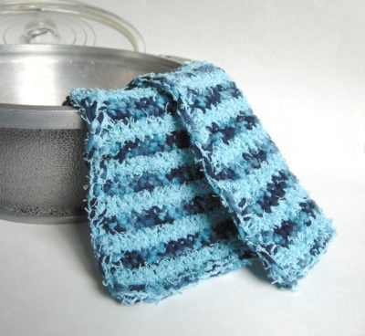 By the Ocean Dish Cloth Scrubby by City Farmhouse Studio