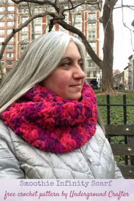 Smoothie Infinity Scarf by Marie/Underground Crafter