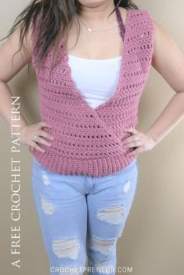 Cross My Heart Shell by Pamela Grice/Made with a Twist