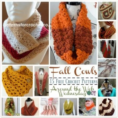 Crochet Fall Cowls ~ FREE Pattern Roundup