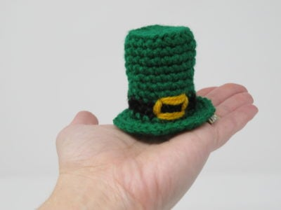 Tiny Leprechaun Hat by Kati Brown.