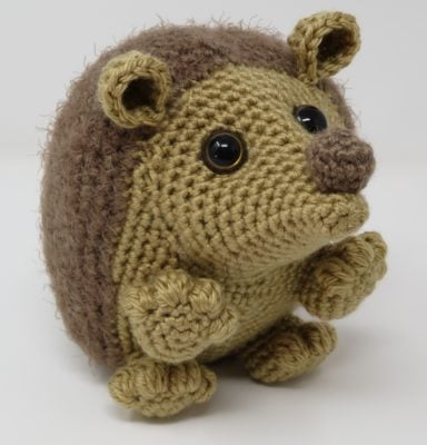 Hygge Hedgehog by Kati Brown for Underground Crafter